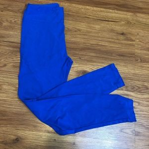 Blue LuLaRoe Leggings OS